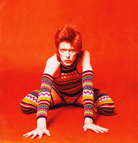 WHAT DID BOWIE DO AT YOUR AGE?
