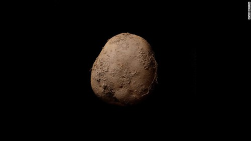 Is this the most photogenic potato? Photo sold for €1m