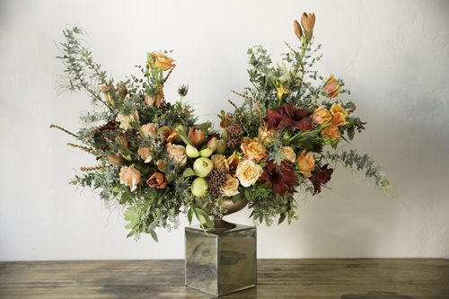 Maurice Harris of Bloom & Plume Gives A Vibrant Take On Floral Arrangements