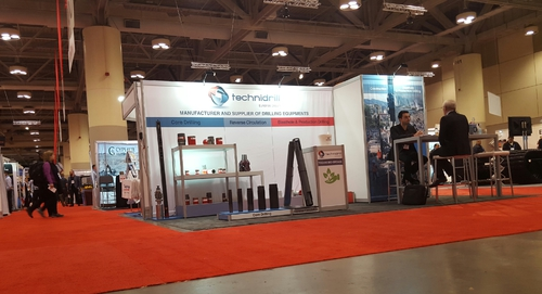 Technidrill @ PDAC 2016 in Toronto – Booth Number: 1436