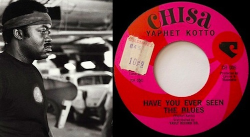 Aquarium Drunkard » Yaphet Kotto :: Have You Ever Seen The Blues (1968)