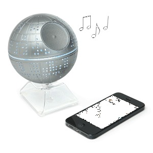 Death Star Bluetooth Speaker | ThinkGeek