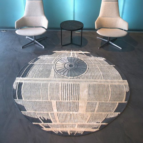 Fancy - Death Star Rug