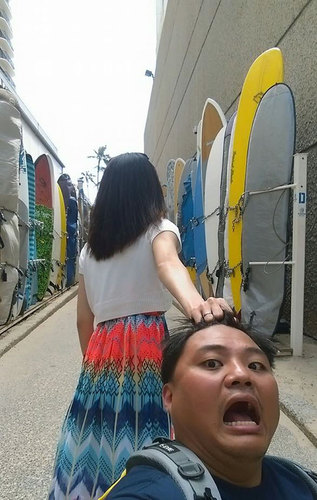 Taiwanese Couple Hilariously Parodies #FollowMeTo Couple | Bored Panda