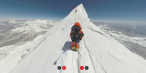 Ascension de l'Everest en 360°