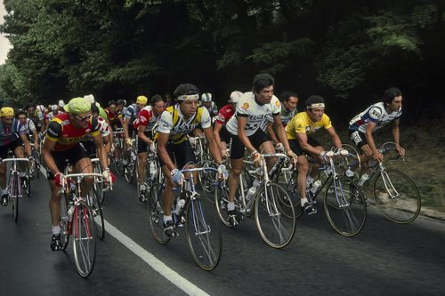 Inside the Peloton: Gruyaert's Tour de France 1982- Magnum Photos
