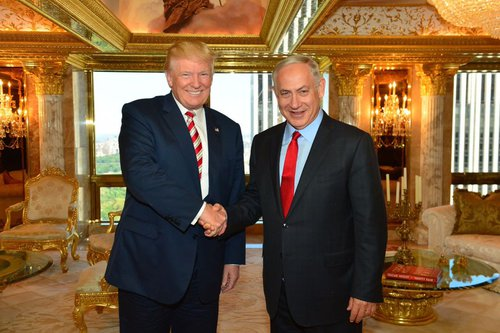 Donald J. Trump met privately today with Prime Minister Netanyahu for over an hour at Mr. Trump's re