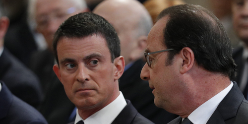 "Valls sur Hollande : ""Je ne le respecte pas et je ne le supporte plus"""