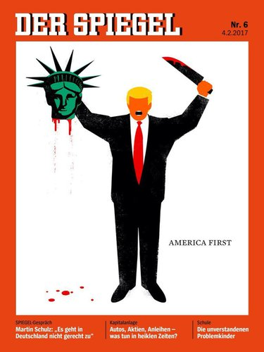 DER SPIEGEL's February cover