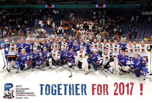 Two countries are hosting 2017 IIHF Ice Hockey World Championship