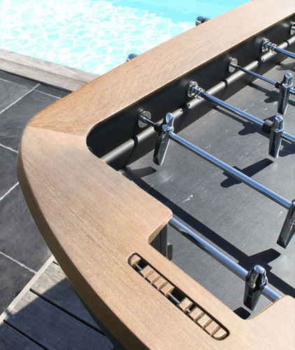 The Pure Foosball Table by Alain Gilles for Debuchy by Toulet