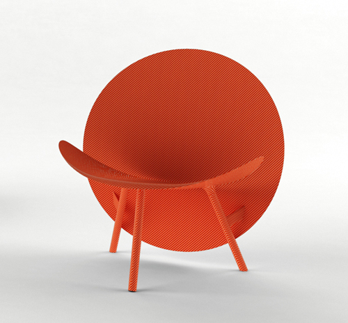 Halo Chair by Michael Sodeau