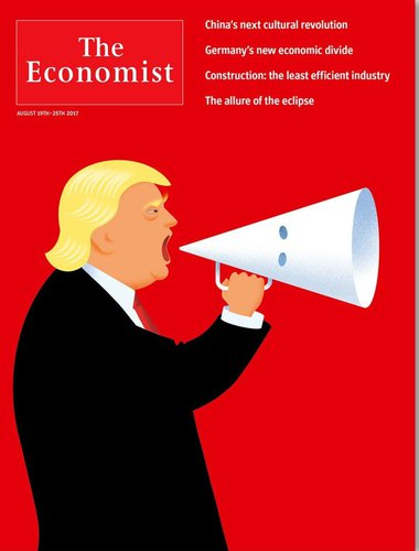À la UNE de The Economist ...