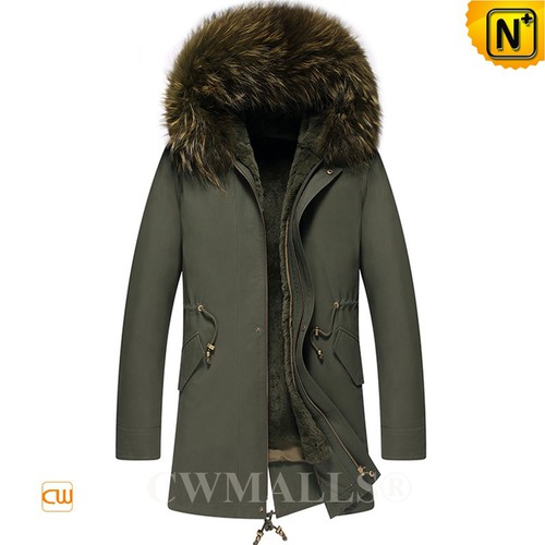 CWMALLS® Houston Fur Lined Leather Parka CW807658[Updated Styles 2017]