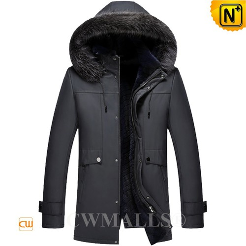 CWMALLS® Albuquerque Rabbit Fur lined Parka CW807656[Updated Styles 2017]