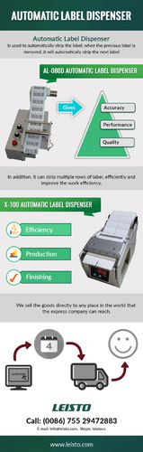 Types Of Industrial Label Dispenser By Leisto