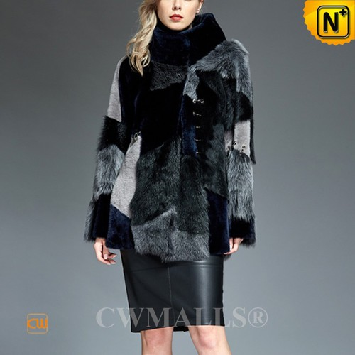 FRENCH Brand   CWMALLS® Paris Reversible Patched Sheepskin Jacket CW607009[Black Friday 2017]