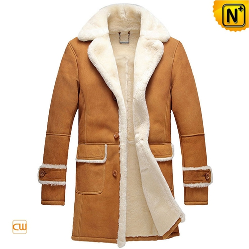 USA Brand | CWMALLS® New York Sheepskin Trench Coat CW878604[Black Friday DEALS]