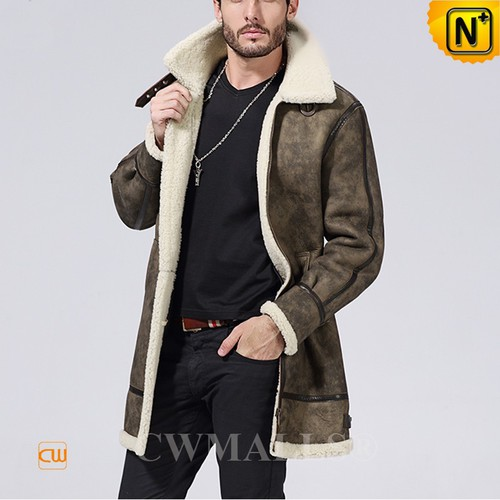 FRENCH Brand | CWMALLS® Paris Shearling Trench Coat CW838001[CWMALLS Cyber Monday]
