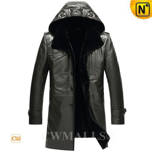 ITALIAN Brand | CWMALLS® Milan Shearling Lined Coat CW807806[Custom Christmas Gift]