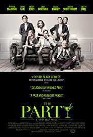 The Party 2017 Movie poster
