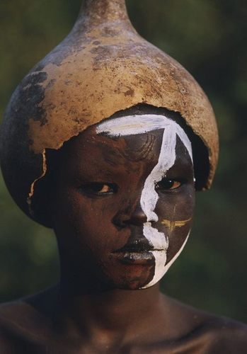 """ PASTORALE AFRICAINE"" - THE OMO PEOPLE - ETHIOPIA by Hans Silvester"