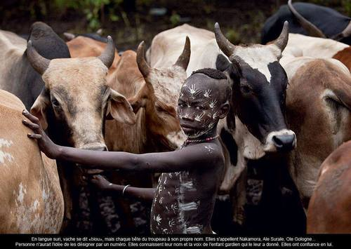 """"""" PASTORALE AFRICAINE"""" - THE OMO PEOPLE - ETHIOPIA by Hans Silvester"""