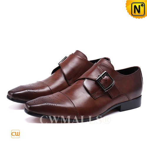 CWMALLS® Miami Monk Strap Brogues Shoes CW708123[Patented Product, Global Free Shipping]