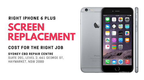 Right iPhone 6 Plus Screen Replacement Cost for the Right Job