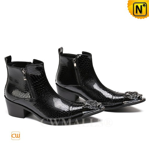 CWMALLS® Birmingham Mens Leather Dress Boots CW707210[Personalized Gift, Patented Product]