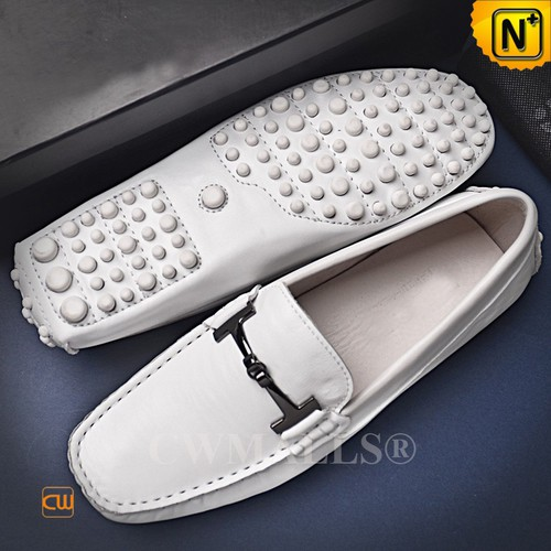 CWMALLS® New York Leather Driving Moccasins CW707130[Custom Made, Personalized Gift]