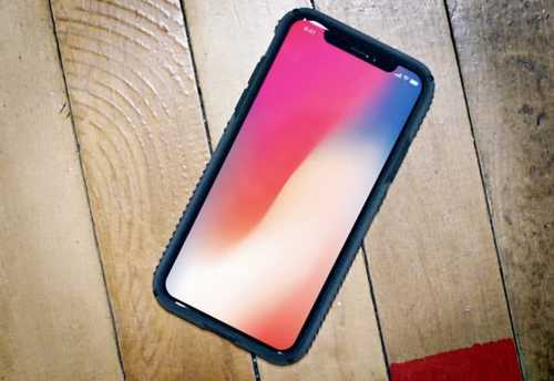 iPhone X users love the 'notch'