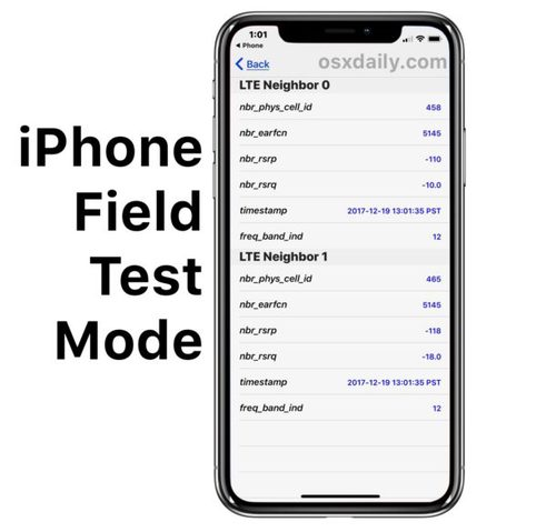 How to Use Field Test Mode in iOS 11 and iPhone X