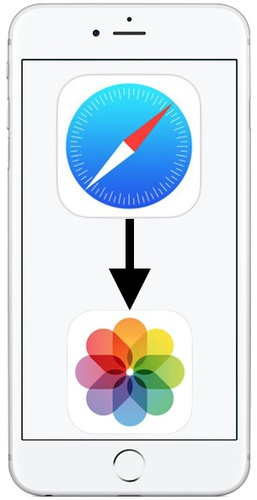 Can't Save Pictures in Safari on iPhone X, iPhone 8, iPhone 7? Here's Why!