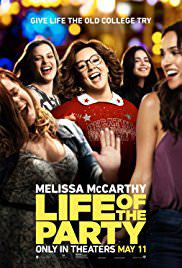Life of the Party 2018 movie Poster