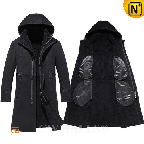 Custom Father's Day Gifts | CWMALLS® Vilnius Men Sheepskin Coat CW838032[Patented Design]
