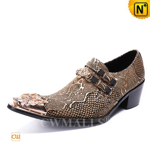 Patented Products | CWMALLS® Python Embossed Leather Shoes CW708002[Limited Edition]