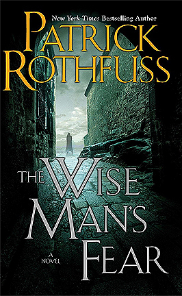 The Wise Man's Fear by Patrick Rothfuss eBook cover
