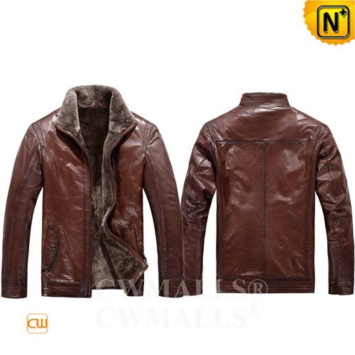 Multifunctional Jacket | CWMALLS® Samara Shearling Jacket CW808011 [Patented Products, Custom Made]