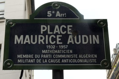 Il y a 61 ans, la disparition de Maurice Audin