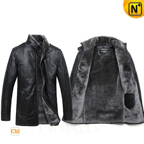 Prime Day 2018 | CWMALLS® Auckland Multifunctional Shearling Jacket CW808058 [Custom Made]