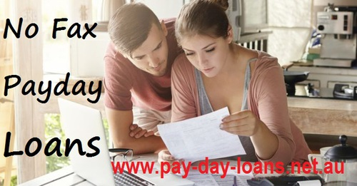 No Fax Payday Loans Paper Free Process to Derive a Deal