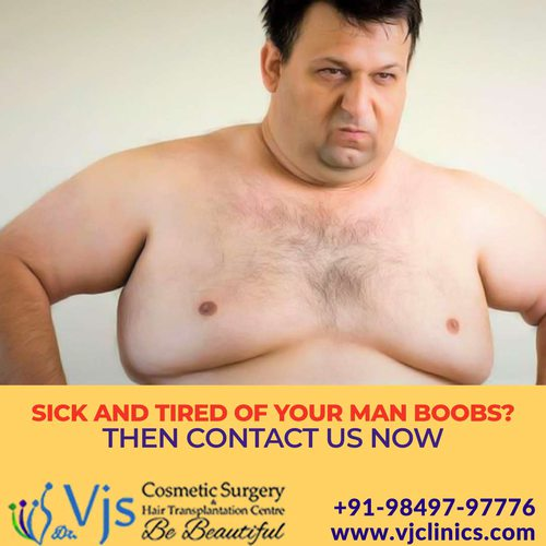 Low cost and affordable surgeries of Gynecomastia in Visakhapatnam