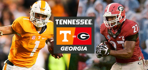 Georgia vs. Tennessee Live Stream
