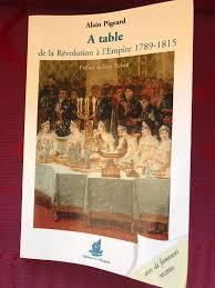 A table de la Révolution à l´Empire 1789-1815