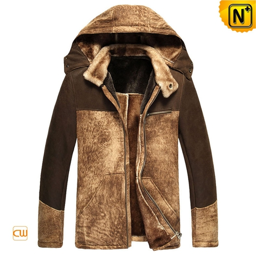 Christmas Gifts | CWMALLS® Chicago Mens Sheepskin Jacket CW877130 [Genuine Sheepskin Jackets]