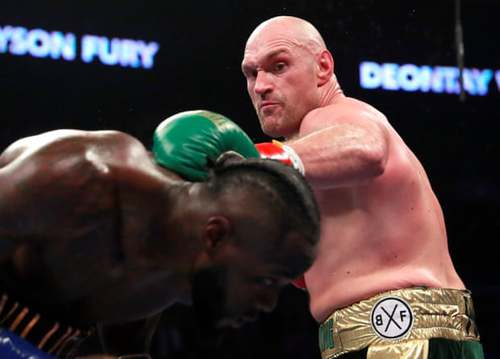 Fury vs Wilder : Draw