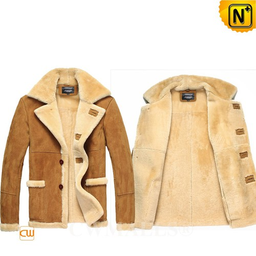 Men Sheepskin Coats | CWMALLS® London Mens Rancher Shearling Jacket CW807136 [Custom Made]