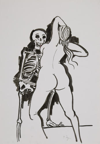 Untitled, Rigor Mortis, 1982, Tomi Ungerer