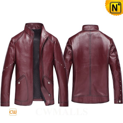 Men Leather Jackets | CWMALLS® Chicago Custom Fitted Leather Jackets CW850405 [Custom Made]